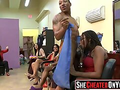 04 Kaya MILFS Meniup Strippers di Wanita Bawah Tanah Berbaju Lelaki Bogel Parti! 49