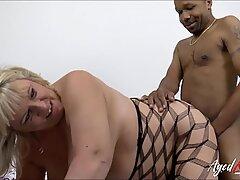 AgedLovE Hardcore Mature Interracial