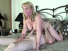 youthfull Pornhub Subscriber Gets inhaled & plumbed By A Mature Milf