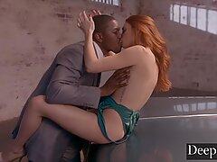 Deeper. Black Stud Ties Up Lacy  ??s Cuckold Boyfriend - Lacy Lennon