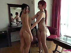 Thai ladies Carrot and Yem want to be pounded hard