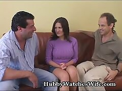 husband sees Wife Have Orgasm With boy