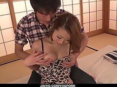 Miku Kirino gets man to hard bang her hairy vag - More at javhd.net